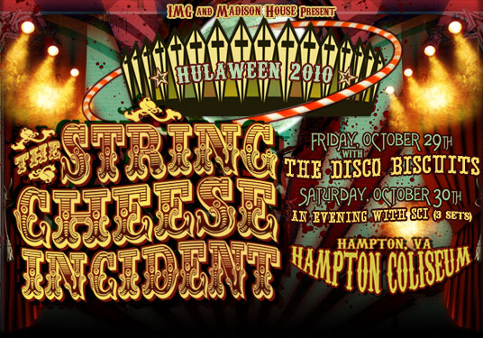 The String Cheese Incident Hulaween 2010 Announced
